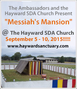 Messiah's Mansion Sept 5-10, 2015